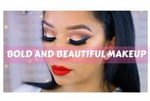 Bold and Beautiful Makeup / Creative and colorful makeup ideas!