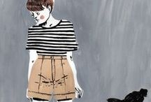 Stripes Plus Brown