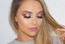 """{ Pretty hair & make up ideas } / """"Beauty is being the best version of yourself"""""""