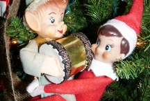 I Heart Elf on Shelf Hi-Jinx / The Elf on the Shelf is Watching You and he's a naughty boy! / by Eclectically Vintage