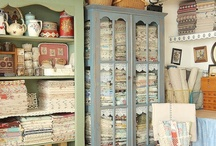 Sewing Room Inspiration / by Calamity Jane's Cottage