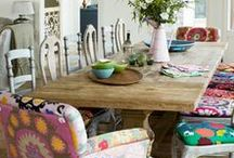 I Heart Dining Rooms / by Eclectically Vintage