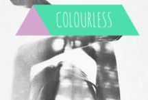 Colourless colours