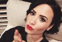 • Deмι Lovaтo • / Ahh Demi! I've been a fan since her Camp Rock days... Heck I even watched her on Barney and didn't even know it. / by Jessica