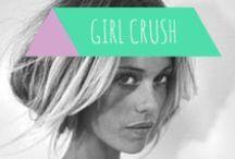 Girl crush / Beautiful woman. No homo.