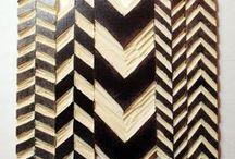 ►►◄Stamps ►◄◄ / Diseño en paredes, muebles y telas con sellos caseros / by Andy Jimenez
