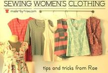 Sew Women's Clothes Tutorials / Sewing tutorials for women's clothing