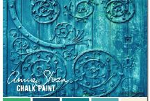 Dreamy Paint  - Chalk, Milk, Stain, Effects ... Colour in general - I love it all!