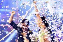 • Dancιng Wιтн Tнe Sтarѕ: All Stars• S15 / Winner: Melissa Rycroft & Tony Dovolani Runner Up: Shawn Johnson & Derek Hough 3rd Place: Kelly Monaco & Valentin Chmerkovski / by Jessica