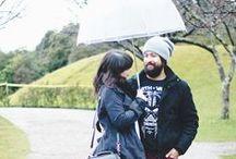 COUPLE OUTFIT / Looks do casal Melina Souza e Beni Hasegawa do Blog Serendipity.