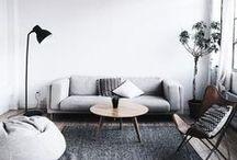 MINIMALISM / Imagens de inspiração para uma casa com decoração minimalista.