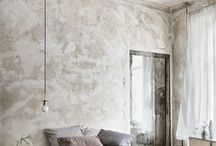 Render me impressed / Render is one of my all time wall finishes! It goes beautifully with my preferred industrial-meets-shabby boho style