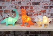 *NEW* Animal and Dino Lamps!