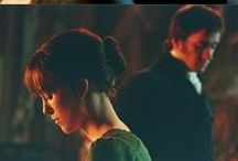 Pride and Prejudice / Jane Austen's novel, and the two screen adaptations (BBC's 1995 classic, and the 2005 film)
