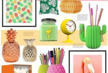Pineapple punch and other tropical treats! / Here at Red Candy we're feeling super summery, so we thought we'd delve into our product offering to find our favourite tropical treats, including a bunch of pineapple-themed home accessories!