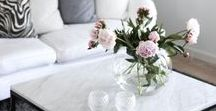 Flowers in Design & Styling / Flowers in Design and styling are often overlooked, but they add such a soft, pretty touch!