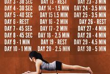Fitness and health things / by Taylor Johnsen
