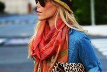 street style scarves / by chictweak
