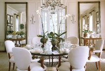 DINING ROOMS / by Donna Sullivan Glassman
