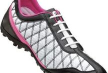 Fore a Cause / All of the pink women's golf clothes and golf shoes you need are located on this board. Golf Galaxy has all of the women's golf shirts, pants, skorts, and shoes you need for every pink season. See everything Golf Galaxy offers for women's golf clothing here: http://www.golfgalaxy.com/Womens-Shop/450/dept