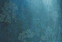 Color Study №5 : Cerulean / sky-blue; dark blue; sea-green