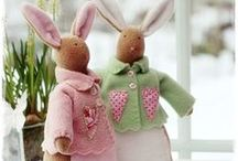 SEWING PATTERN STUFFED TOYS AND DOLLS / by Christina Nilsson