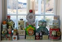 My kitchenwindow / Every month in 5 last years have I decorated my kitchen window.