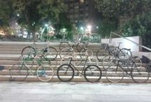 Bicicletas callejeras / Bicicletas que veo por la calle, en A Coruña y en mis viajes por España y Europa.