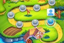 Games   Game Environments / 2D Environments Art, Environment Concept Art, 3D Models for Game Environments, iOS Game Art and Android Games Game Art, UI, GUI, Icons, Game Illustrations :D #UI #HUD #Interface #Game Menus #Game Art