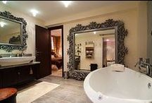 Accommodation with Luxury Bathrooms / http://www.alphaholidaylettings.com