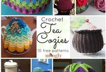 Free Crochet Tea Cosy Patterns / Free crochet patterns for tea cosies or tea cozies. These are fun to make and are great gifts ideas.