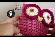 Crochet Video Tutorials / Best crochet video tutorials I've found. Learning to crochet or learning new crochet stitches is made easier if you can watch someone do it. Plus there are loads of free crochet patterns available.