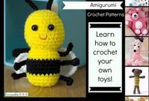 Free Crochet Patterns for Toys, Amigurumi and Dolls / If you are interested in making crochet toys, dolls and amigurumi then you will find a free pattern here.