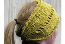 Free Crochet Headbands & Earwarmers / Large headbands or earwarmers are very on trend this year and they are super fast and easy to make. Hope you enjoy these free crochet patterns.