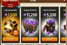 Game UI   Shop / IAP, In App Purchases, General Shop, Lives Shop, Booster Shop, Structure Shop, Merchandise Shop, In Game Purchases, Purchase Confirmations, Purchase Warnings  App, iPad, iPhone, UI for Casual Games, iOS UI, User Interface, Graphical User Interface, Graphic Design, Games, Screen   Progressions in iOS and Android Games for UI GUI Designers, HUD, Interface, Game Menus, Game Art  www.girlvsgui.com