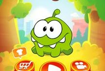 Game UI   Cut The Rope 2 / Puzzle Game, Brain Game  ZeptoLabs, App, iPad, iPhone, UI for Casual Games, iOS UI, User Interface, Graphical User Interface, Graphic Design, Games, Screen   Progressions in iOS and Android Games for UI GUI Designers, HUD, Interface, Game Menus, Game Art  www.girlvsgui.com