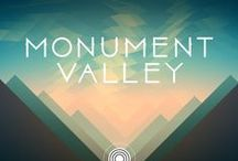 Game UI   Monument Valley / Monument Valley & Forgotten Shores Puzzel, Adventure Mobile Game  App, iPad, iPhone, UI for Casual Games, iOS UI, User Interface, Graphical User Interface, Graphic Design, Games, Screen   Progressions in iOS and Android Games for UI GUI Designers, HUD, Interface, Game Menus, Game Art  www.girlvsgui.com