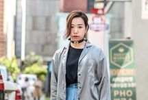 Gray 리얼웨이 / Gray realway looks from Seoul, Korea  Gray coordination