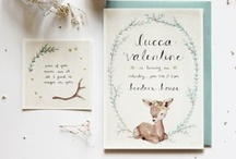 Graphic Design: Invitations / Sweet wedding invitations and other stuff like that.
