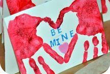 Valentine's Day Activities / Love is in the air! Here are some fun Valentine's Day related activity ideas for you and your kids. Happy Valentine's Day!