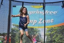 Springfree Events / We love bringing Springfree Trampolines to events all over the world. Here are some of our past memories...