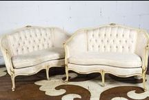 For sale: Settees / by Chairloom/Co-Lab.