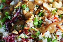 Food || salads & veg
