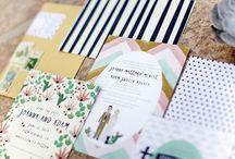 Wedding: invitation and stationary / by Paola Lanticina