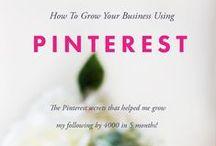 {pinterest marketing tips} / Pinterest marketing tips every brand needs to know.