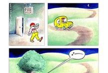 The Perry Bible Fellowship / A webcomic written and illustrated by Nicholas Gurewitch. Visit pbfcomics.com for more. / by Shawn Everidge