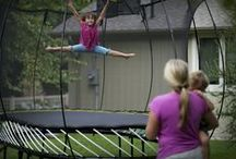 Everything Springfree Trampoline / This board is all about Springfree! Learn why Springfree Trampoline is the world's safest trampoline.