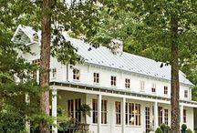 Country Home/Farmhouse / Home Decor : French Country. Farmhouse. Ranch. Country. / by Starr Howard