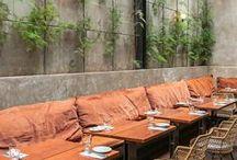Restaurant/Coffe shop gardens