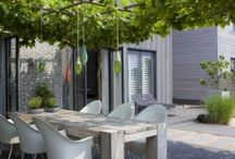 Innenhof | Patio / Gestaltungsideen für schöne Sitzplätze im Garten und Innenhof
